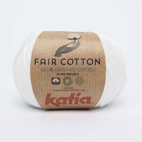 Katia Fair Cotton 01 bianco