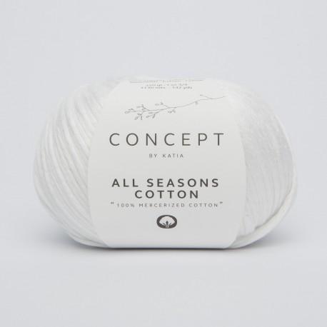 Katia All Season Cotton 1 Bianco