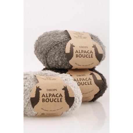 Drops Alpaca Bouclè