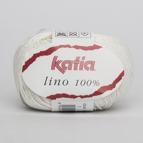 Katia Lino 100% 1 Bianco