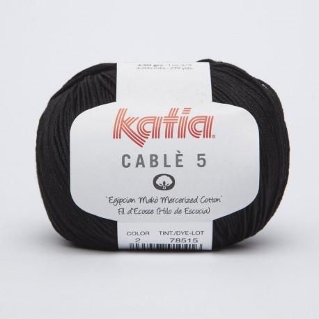 Katia Cablè 5  2 Nero