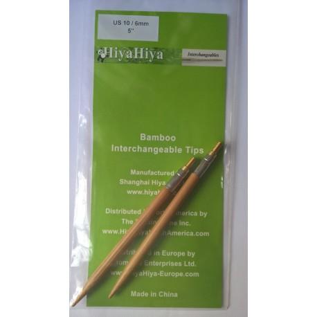 Hiya Hiya punte intercambiabili Bamboo