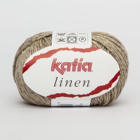Katia Linen 20 verde muschio
