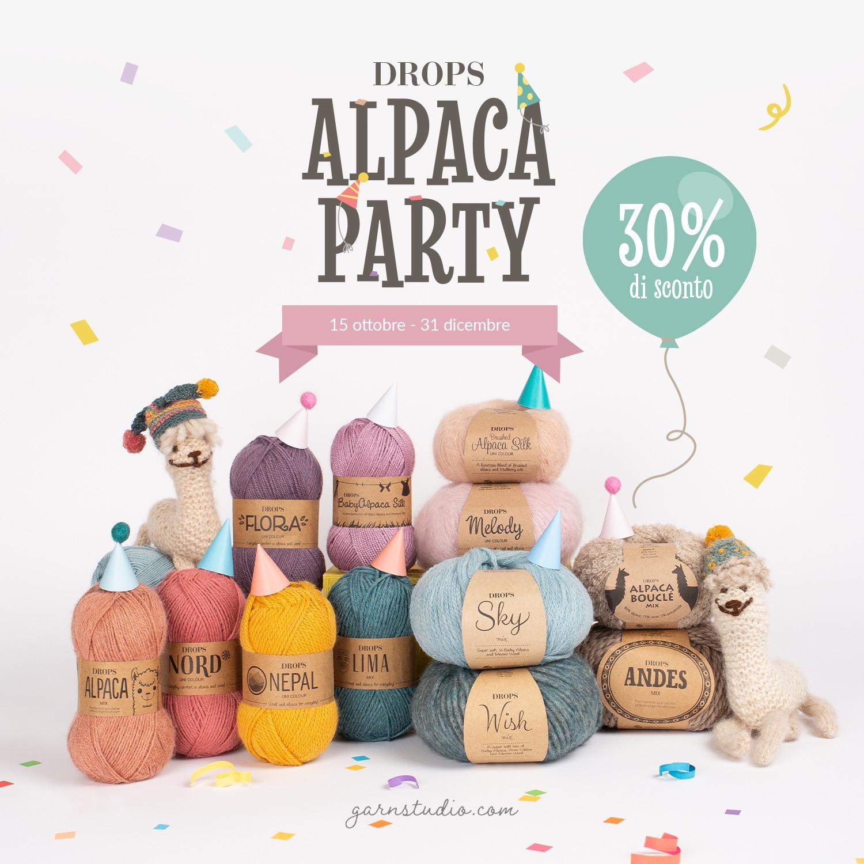 Alpaca Party fino a fine anno